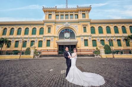 Album cưới đẹp ở Sài Gòn