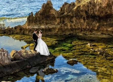 Hang Rái - địa điểm chụp ảnh cưới biển đẹp nhất Phan Rang
