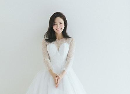 Mê mẩn với nét đẹp tinh khôi của những chiếc váy cưới Hàn Quốc