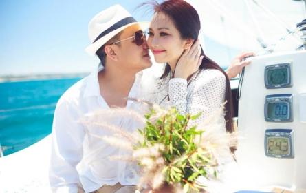 Ảnh cưới đẹp như mơ của Kim Hiền tại Mỹ