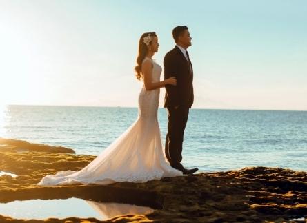 Chụp hình cưới ngoại cảnh đẹp biển Vĩnh Hy