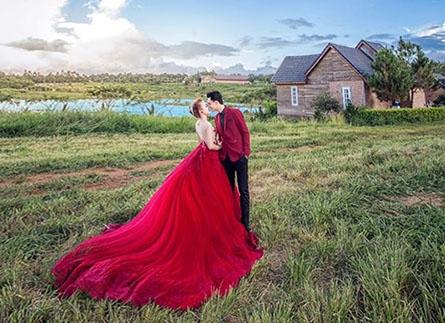 Studio chụp hình cưới ở Đà Lạt