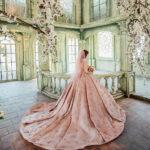 chụp ảnh cưới tại phim trường paris